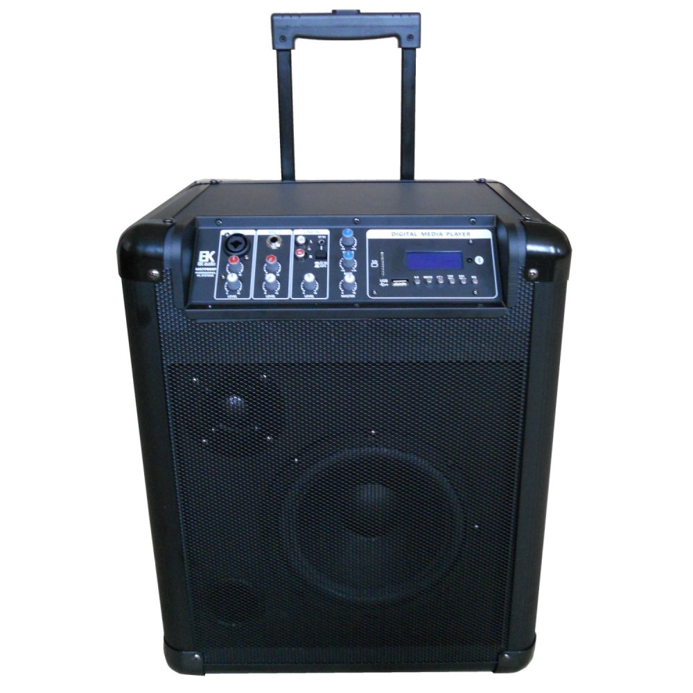 AMPLIFICADOR TROLLEY CON BATER�A RECARGABLE EK AUDIO ACTIVA
